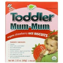 Hot Kid Toddler Mum-Mum Strawberry (6x2.12 Oz)