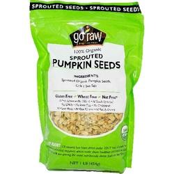 Go Raw Cltc Sea Salt Pumpkin Seeds (6x16 Oz)