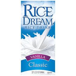 Imagine Foods Vanilla Nondairy Rice Beverage (12x32 Oz)