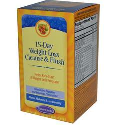 Nature's Secret 15 Day Weight Loss Cleanse & Flush (1x60 TAB)