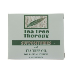 Tea Tree Therapy Tea Tree Suppositories (1x6 PK)