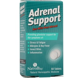 Natra-Bio Adrenal Support (1x60 TAB)