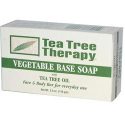 Tea Tree Therapy Tea Tree vegetable Soap (1x3.9 Oz)