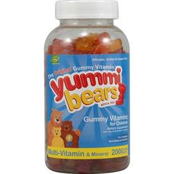 Hero Nutritionals Yummi Bears Multi Vitamin & Mineral (1x200BEARS)