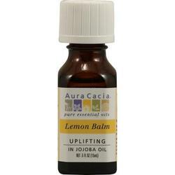 Aura Cacia Essential Lemon Balm In Jojoba Oil (1x.5 Oz)