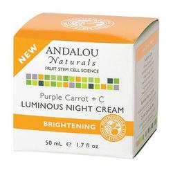 Andalou Naturals Purple Carrot +C Luminous Night Cream (1x1.7 Oz)