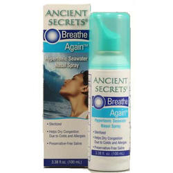 Ancient Secrets Breath Again Nasal Spray (1x3.38 Oz)
