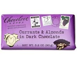 Chocolove Currants & Almonds in Dark Choc Bar (12x3.2 Oz)