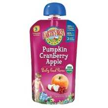 Earth's Best Pumpkin Cranberry Apple Puree (2x6x4.2Oz)