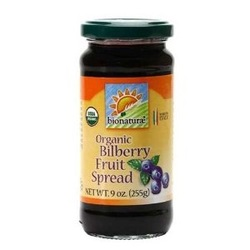 Bionaturae Bilberry Fruit Spread (12x9 Oz)