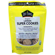 Go Raw Lemon Cookies (12x3 Oz)