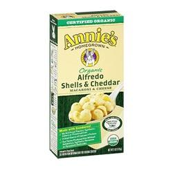 Annie's Alfredo Shells & Cheddar (12x6 Oz)