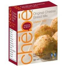 Chebe Bread Original Cheese Bread Mix, Gluten Free (8x8/7.5 Oz)