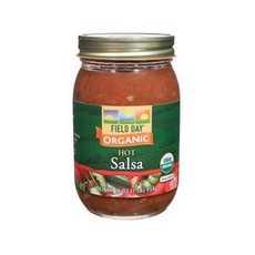 Field Day Organic Hot Salsa (12x16Oz)