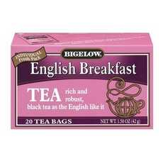 Bigelow English Breakfast Tea (6x0 Bag )