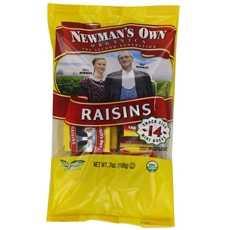 Newman's Own Organics Raisins Mini Boxes (12x14x.5 Oz)