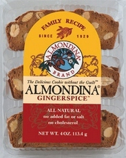 Almondina Gingerspice Cookie (12x4 Oz)