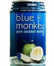 Blue Monkey 100% Natural Coconut Water (24x11.2 Oz)