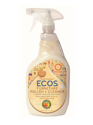 Earth Friendly Furniture Polish With Natural Olive Oil (6x22Oz)
