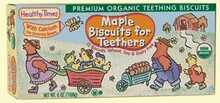 Healthy Times Maple Biscuits for Teethers Wheat Free (12x6 Oz)