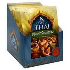 A Taste Of Thai Peanut Sauce Mix (6x3.5Oz)