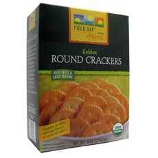 Field Day Organic Golden Round Crackers (12x8Oz)
