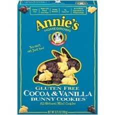 Annie's Gluten Free Cocoa & Vanilla Bunny Cookies (12x6.75Oz)