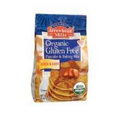 Arrowhead, Organic Gluten Free Pancake & Baking Mix (6x26Oz)
