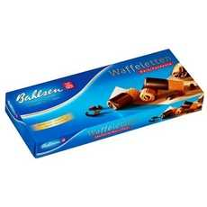 Bahlsen Dark Chocolate Dipped Wafer Rolls (12x3.5Oz)