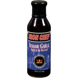 Iron Chef Sesame Garlic Sauce (6x14 Oz)