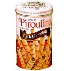 De Beukelaer Pirouline Rolled Wafers Dark Chocolate (6x14Oz)