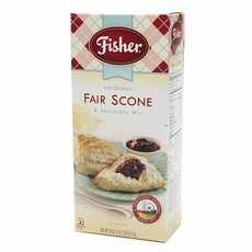 Fisher Fair Scone & ShortCake MixOriginal (12x12/18 Oz)