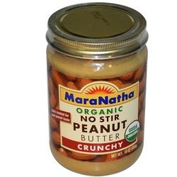 Maranatha Organic Peanut Butter No Stir Crunchy (6x16 OZ)