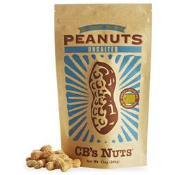CB's Jumbo Peanuts Unsalted  (12x12 OZ)