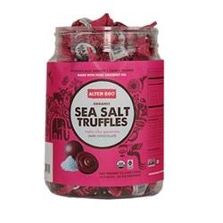 Alter Eco Organic Sea Salt Dark Milk Chocolate Truffles (60x0.42 OZ)