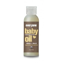 Everyone Baby Unscented Organic Baby Oil  (1x4 OZ)