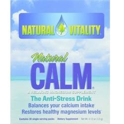 Natural Vitality Natural Magnesium Calm (1x30 Ct)