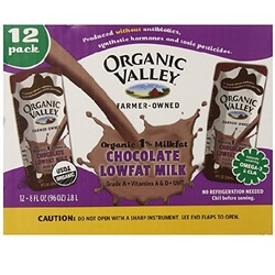 Organic Valley Chocolate Aseptic Lowfat (1X12 Pack)