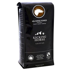 Kicking Horse 454 Horse Power Dark Whole Bean Coffee (6x10 OZ)