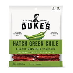 Duke's Smoked Shorty Sausages Hatch Green Chile (8x5 OZ)