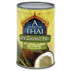 A Taste Of Thai Lt Coconut Milk (12x13.5OZ )