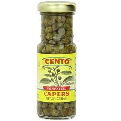 Cento Capers Nonpareil (12x3 OZ)