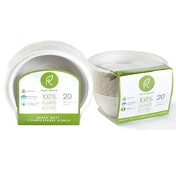 Repurpose Compostable Bowls 16 Oz (12X20 Ct)