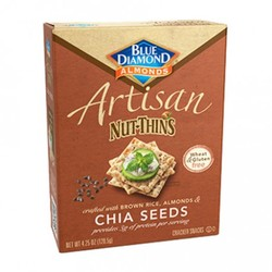 Blue Diamond Artisan Nut Thins Chia Seeds (12x4.25 OZ)