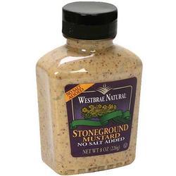 Westbrae Natural Stoneground Mustard (12x8 OZ)