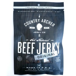 Country Archer Beef Jerky Original Beef (12x3 OZ)