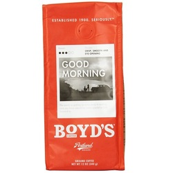 Boyds Coffee Good Morning Single Cup Pods (6x12 CT)
