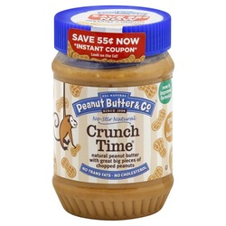 Peanut Butter & Co Pnut Crunch Time (6X16 OZ)