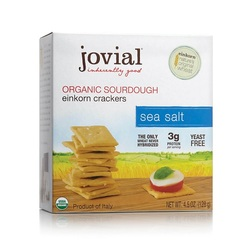 Jovial Organic Sourdough Einkorn Crackers Sea Salt (10x4.5 OZ)