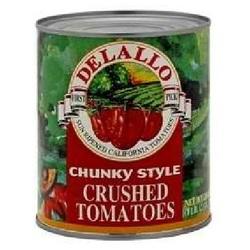 De Lallo Tom Chnk Crushed (12x28OZ )
